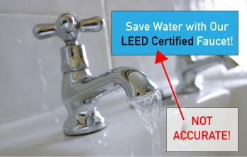 LEED Certification for products does not exist